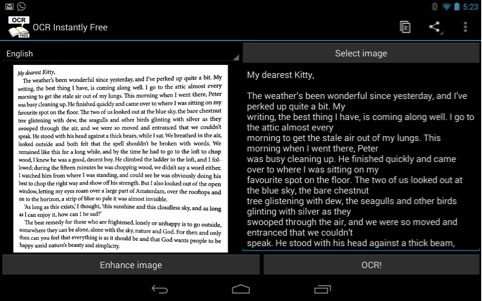 OCR app for Android