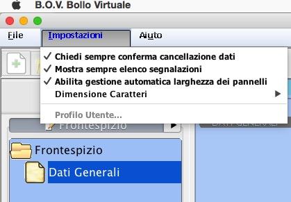 Impostazione Software Bollo Virtuale
