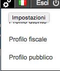 Profilo pubblico